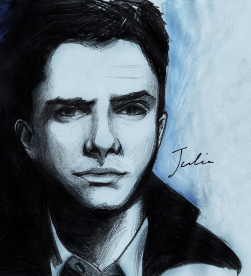 Topher Grace by JuJu